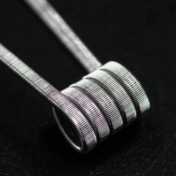 Jolly Wire - 3 Core Parallel NI80 0,3 Ohm Fused Clapton Coils 28*3/40G Handwrapped Sixpack