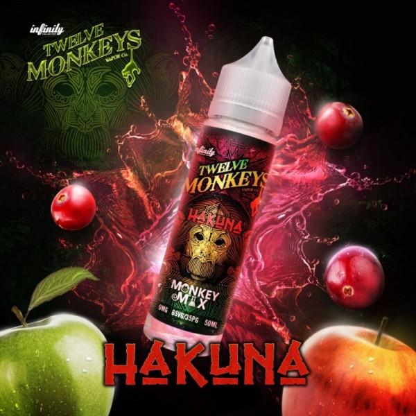 Twelve Monkeys - Hakuna 50ml 0mg (DIY Shortfill)