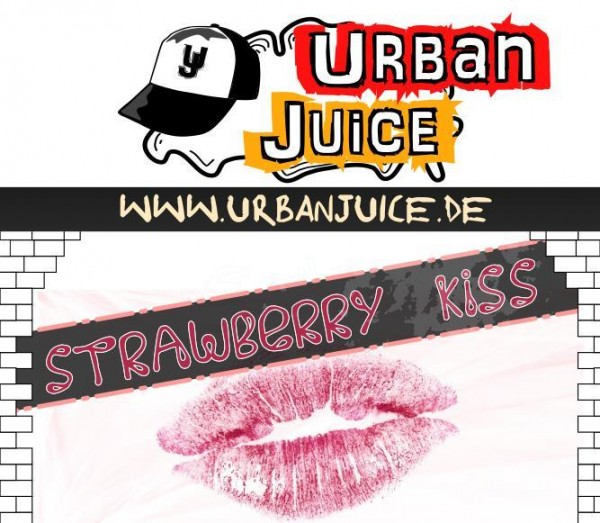 Urban Juice - Strawberry Kiss E-Liquid 10ml