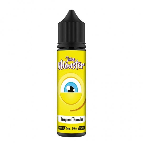 Juice Monster Tropical Thunder E-Liquid 50ml Shortfill 0mg