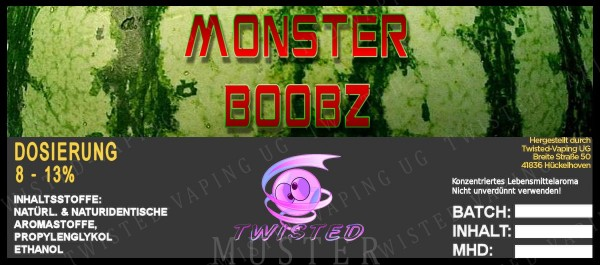 Twisted - Monster Boobz Aroma 10ml
