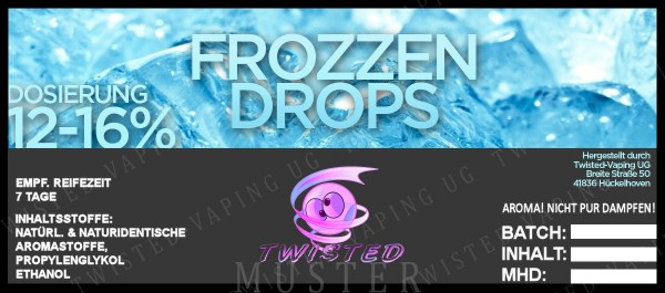 Twisted - Frozzen Drops Aroma 10ml