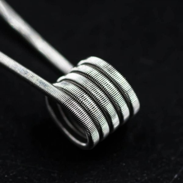 Jolly Wire - 2 Core Parallel NI80 0,5 Ohm Fused Clapton Coils 28+28/40G Handwrapped 2er Pack