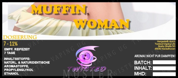 Twisted - Muffin Woman Aroma 10ml