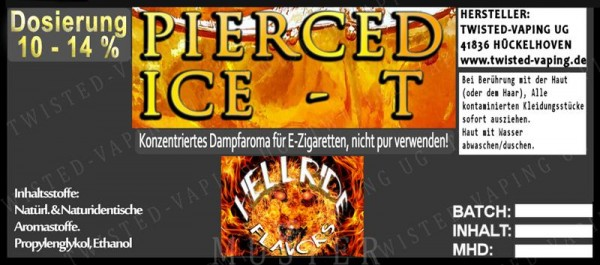 Twisted Hellride - Pierced Ice-T 10ml