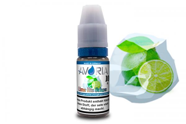 Avoria - Lime lite Deluxe E-Liquid 10ml