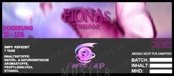 Twisted - Fionas Dream Aroma 10ml