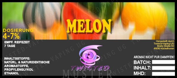 Twisted - Melon Aroma 10ml