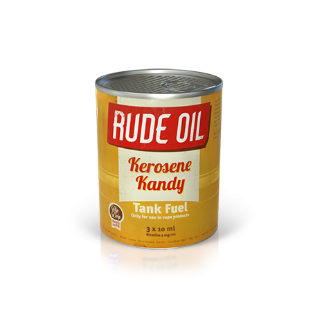 Rude Oil - Kerosene Kandy Multipack 3x10ml