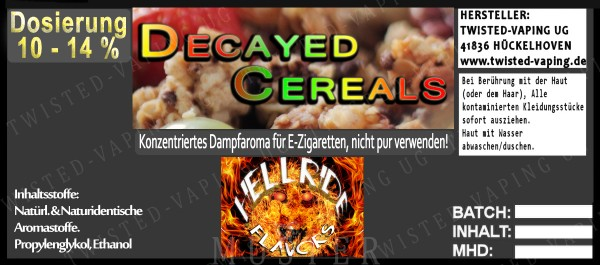 Twisted Hellride - Decayed Cereals 10ml