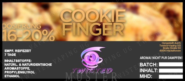 Twisted - Cookie Finger Aroma 10ml
