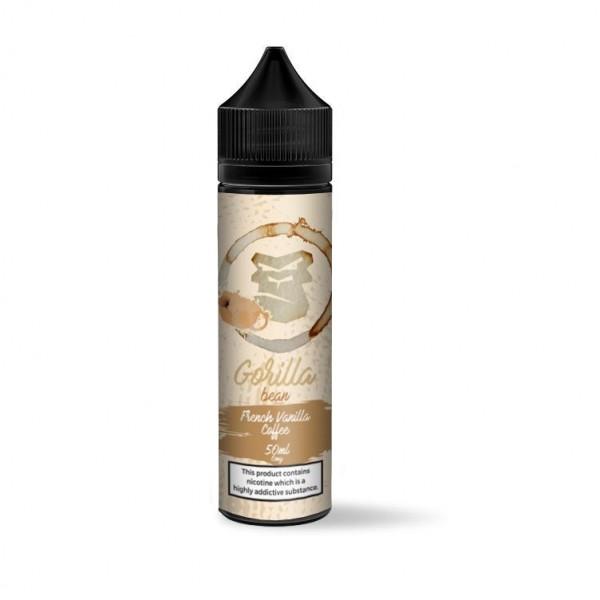 Gorilla Bean French Vanilla Coffee 50ml Shortfill 0mg