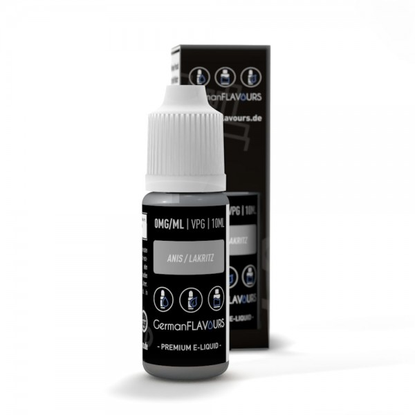 GermanFLAVOURS - Anis / Lakritz (Knöterich) 10ml