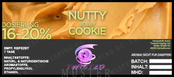 Twisted - Nutty Bobby Cookie Aroma 10ml