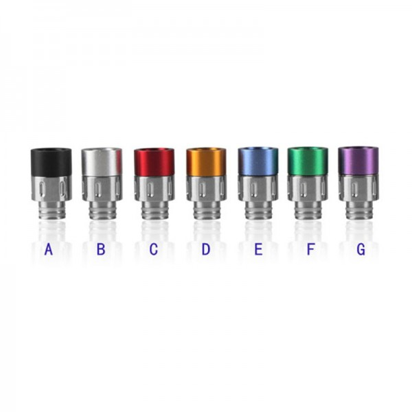 Aluminum and Stainless Steel Drip Tip Type A