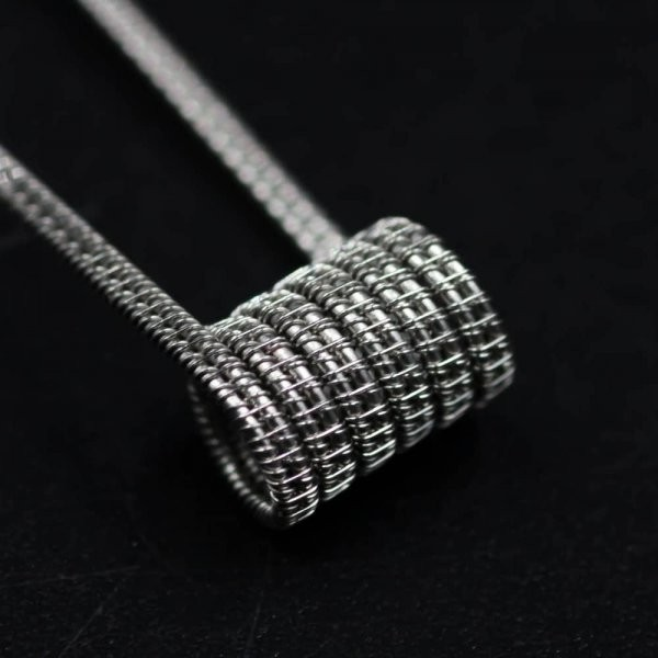 Jolly Wire - Staggered NI80 0,35 Ohm (26+38)*2/38G Handwrapped Sixpack