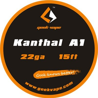 GeekVape - Kanthal A1 Tape Wire (22GA) 5 Meter (15ft)